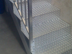 Escaleras metalicas