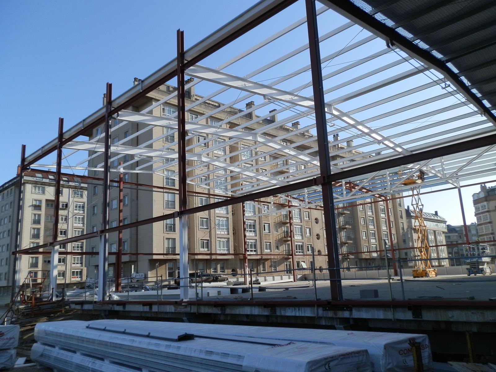 Cerchas metalicas para cubiertas imagen de la fachada - Cerchas metalicas para cubiertas ...